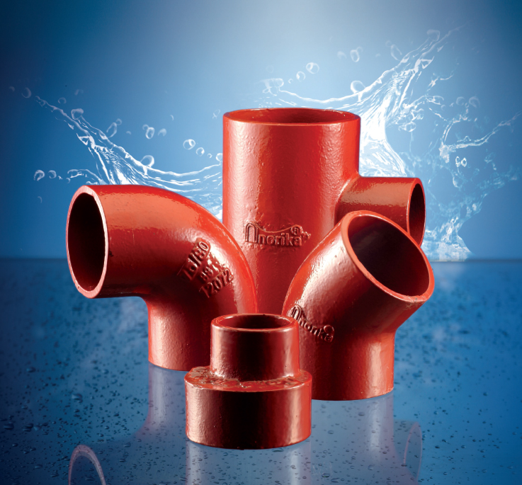 Epoxy Coated Hubless Pipe & Fittings